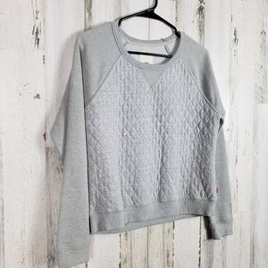 Womans Levi's gray sweater size medium